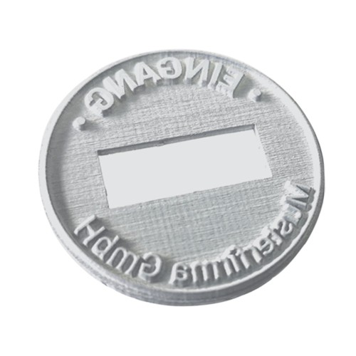 Replacement text plate Trodat date stamp 54045 - 40mm (incl. ink pad 6/15)